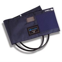 Mabis MABIS Calibrated Blue Nylon Cuffs with Double-Tube Bladders, Child