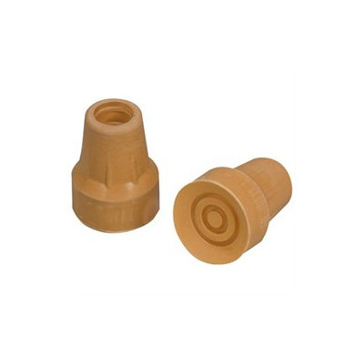 Mabis 512-1431-9502 Replacement Crutch Tips - Large #50 - 1 Pair
