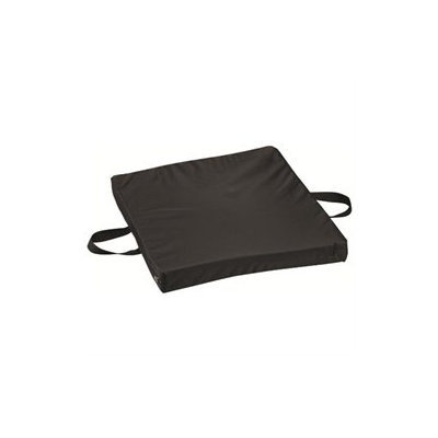 Mabis 513-7645-0200 Gel-Foam Flotation Cushion- 16 x 20 x 2 - Black Oxford Nylon