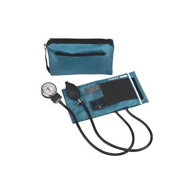 MatchMates Aneriod Sphygmomanometer Kit, Teal, 1 ea
