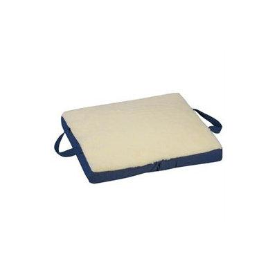 Mabis 513-7631-9911 Gel-Foam Flotation Cushion - 16 x 18 x 2 - Cream Fleece
