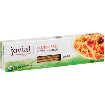 Jovial Spaghetti, Brown Rice, 12 Ounce (Pack of 6)