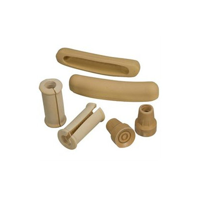 Mabis 512-1424-0000 Crutch Accessory Kit - Split Grips- Underarm Pads and Tips