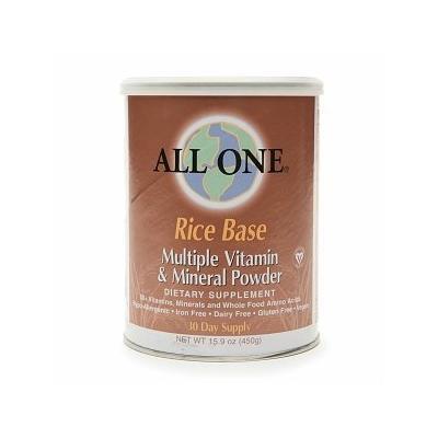 All One Rice Base Multiple Vitamin & Mineral Powder 15.9 oz (450 g)