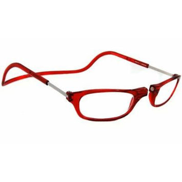 Clic Magnetic Reading Glasses Red (2.50)