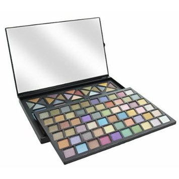 Ultimate Color Eyeshadow Palette with Mirror (120 Colors, Sheer)