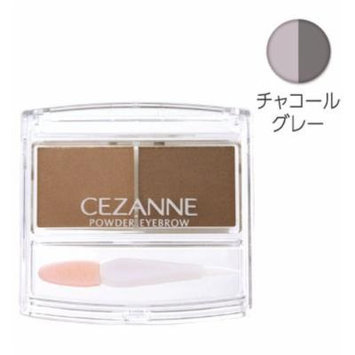 Cezanne Eyebrow Powder Made in Japan Canmake (Charcoal Grey)
