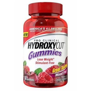 Muscletech New Mega Size Package Hydroxycut Nutrition Gummies New Mega Size Package, Mixed Fruit, 120 Count