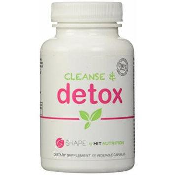 HIT Shape Cleanse & Detox, all-natural, maximum strength formula, 60 Vegetable Capsules
