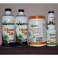 Isagenix 9-day Deep Cleansing and Fat-burning System Vanilla Flavor with Cleanse Liquid Bottles
