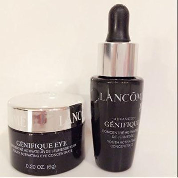 set of two travel size genifiqu-e FACE & EYE Concentrate
