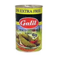 Galil Pickled Cucumbers in Brine,