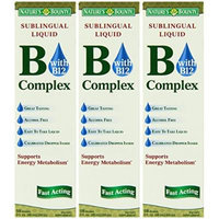 Nature's Bounty Vitamin B Complex Sublingual Liquid, 2 Ounce (Pack of 3)