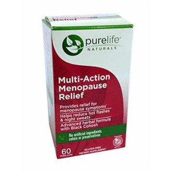 PureLife Naturals Multi-Action Menopause Relief - 60 Pure Caps