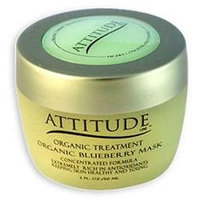 Attitude Line Organic Facial Mask - Blueberry