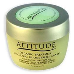 Attitude Line Organic Facial Mask - Blueberry