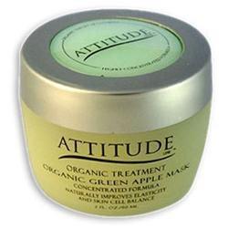 Attitude Line Organic Facial Mask - Green Apple