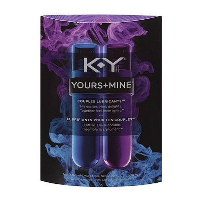 K-Y Brand K-Y Yours Plus Mine Couples Lubricants