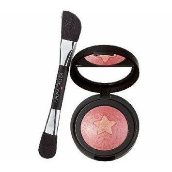 BAKED STAR BLUSH-N-HIGHLIGHT w/ BRUSH (ROSE STARLIGHT) .15 OZ / 15G