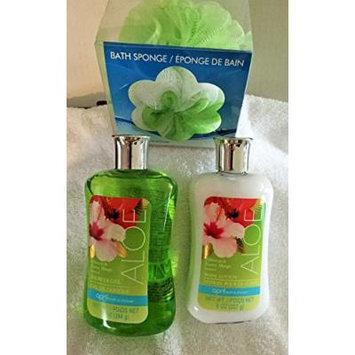 April Bath & Shower Spa Set (3 Pc.) (Hibiscus & Exotic Mango)