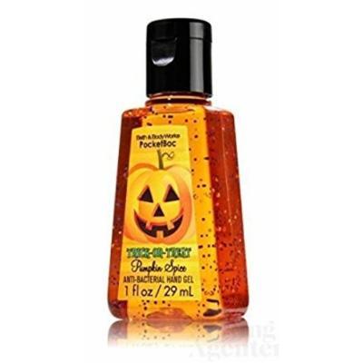 Bath & Body Works® PocketBac TRICK OR TREAT Pumpkin Spice Anti-Bacterial Hand Gel