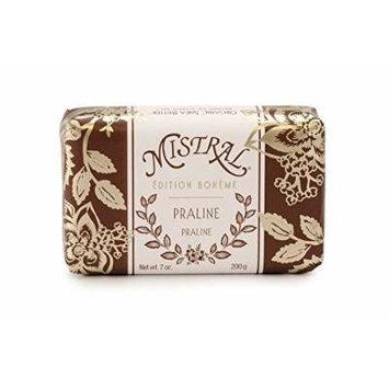 Mistral Edition Boheme Praline French Bar Soap 7 oz (200g)