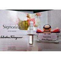 Signorina By: Ferragamo 0.05 oz EDT, Women's Sample-Vials **Lot Of 3**