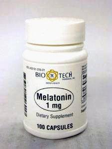 Melatonin 1 mg 100 caps by Bio-Tech