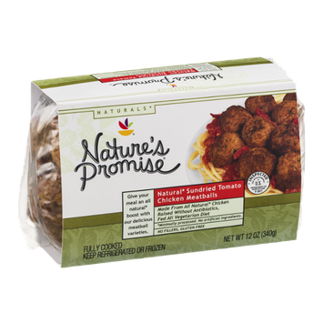 Nature's Promise Natural Sundried Tomato Chicken Meatballs