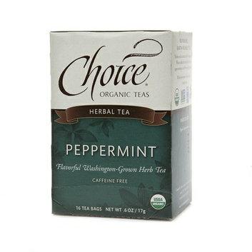 Choice Organic Teas Herbal Tea Peppermint