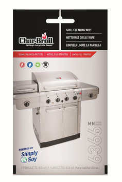 W.c. Bradley Enterprises Char-Broil Grill Cleaning Wipes White