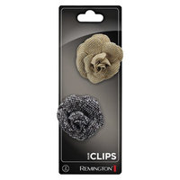 Remington Small Menswear Flower Salon Clips
