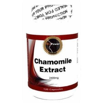 Chamomile # 240 Capsules Chamomile 2400 Mg Digestive Aid Alleviate Gas Insomnia - BioPower Nutriton (2 Bottles)