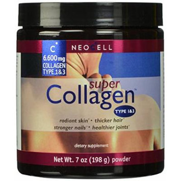 Neocell Super Powder Collagen, Type 1 and 3, 7 Ounce (14 oz (7oz X 2))