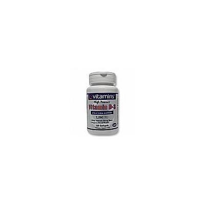 Vitamin D3 2000 IU - 120 Softgels