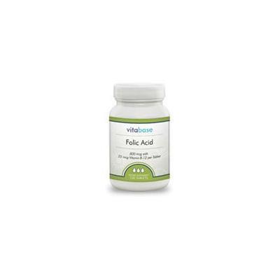 Folic Acid, 800 mcg, 100 Tablets