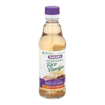 Nakano Rice Vinegar, Seasoned, Roasted Garlic, 12 FL OZ (Pack of 6)