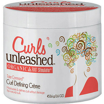 Curls Unleashed Organic Root Stimulator Curl Defining Creme