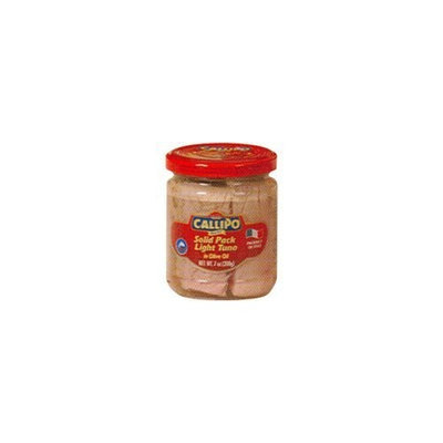Callipo Solid Light Tuna in Olive Oil. Pack of 2