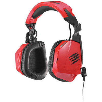 Mad Catz F.R.E.Q. 3 Stereo Gaming Headset for PC, Mac and Smart Devices, Red