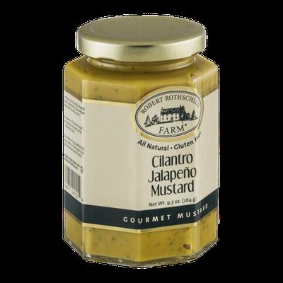 Robert Rothschild Farm Cilantro Jalapeno Mustard