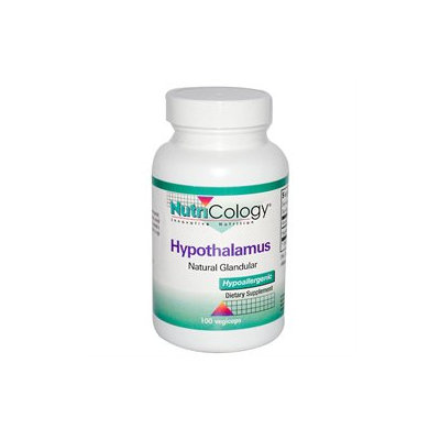 Nutricology - Hypothalamus Natural Glandular - 100 Capsules CLEARANCE PRICED