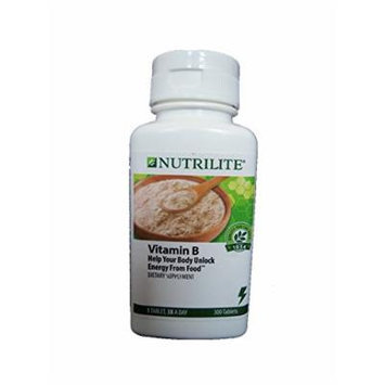 Nutrilite Vitamin B 300 Tablets Per Bottle By Amway : Exp 2018 or Later