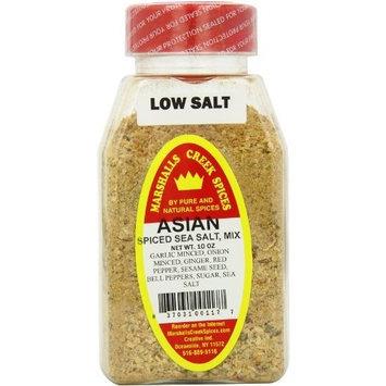 Marshalls Creek Spices Asian Spiced Sea Salt Mix, 10 Ounce