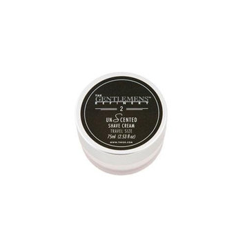 The Gentlemens Refinery Shave Cream, Unscented (2.6 oz)