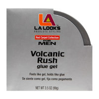 L.A. Looks Volcanic Rush Glue Gel for Men, 3.5 oz