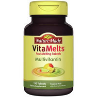 Pharmavite Llc Nature Made VitaMelts Tropical Fruit Multivitamin Dietary Supplement Tablets, 130 count