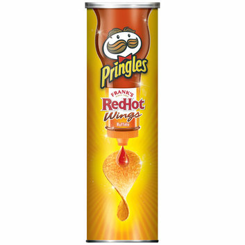 Pringles Frank's RedHot Buffalo Wings Potato Crisps