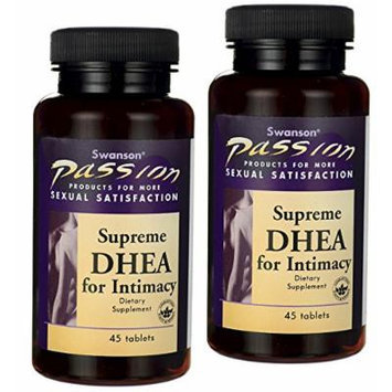 Swanson Supreme Dhea for Intimacy, Pack of 2