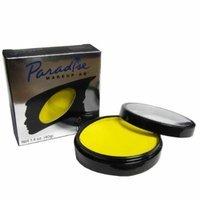 Mehron Paradise YELLOW - Face and Body Paint Pro Size 1.4 oz